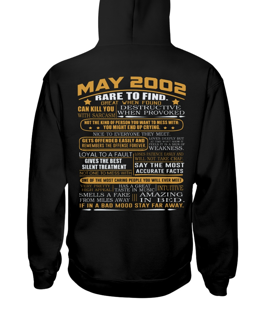 YEAR GREAT 02-5 Hooded Sweatshirt