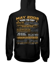 YEAR GREAT 02-5 Hooded Sweatshirt back