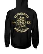 MAN 1988-11 Hooded Sweatshirt back
