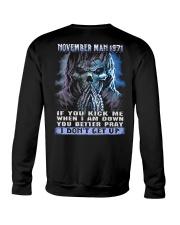 I DONT GET UP 71-11 Crewneck Sweatshirt thumbnail