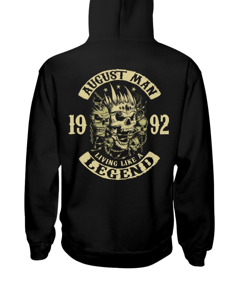 MAN 1992- 8 Hooded Sweatshirt
