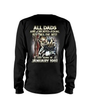 DAD YEAR 81-1 Long Sleeve Tee thumbnail