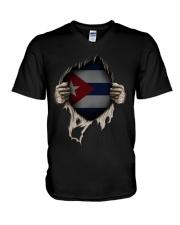 Cuba V-Neck T-Shirt thumbnail