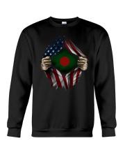 American-Bangladesh Crewneck Sweatshirt thumbnail