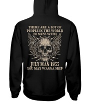 I AM A GUY 55-7 Hooded Sweatshirt back