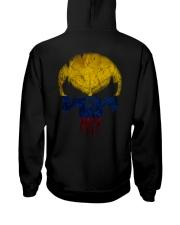 Skull Colombia Hooded Sweatshirt back