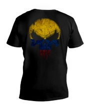 Skull Colombia V-Neck T-Shirt thumbnail