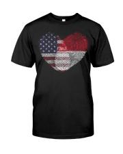 MY HEART monaco Classic T-Shirt front