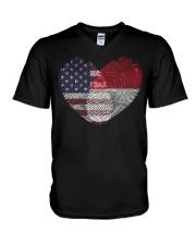 MY HEART monaco V-Neck T-Shirt thumbnail