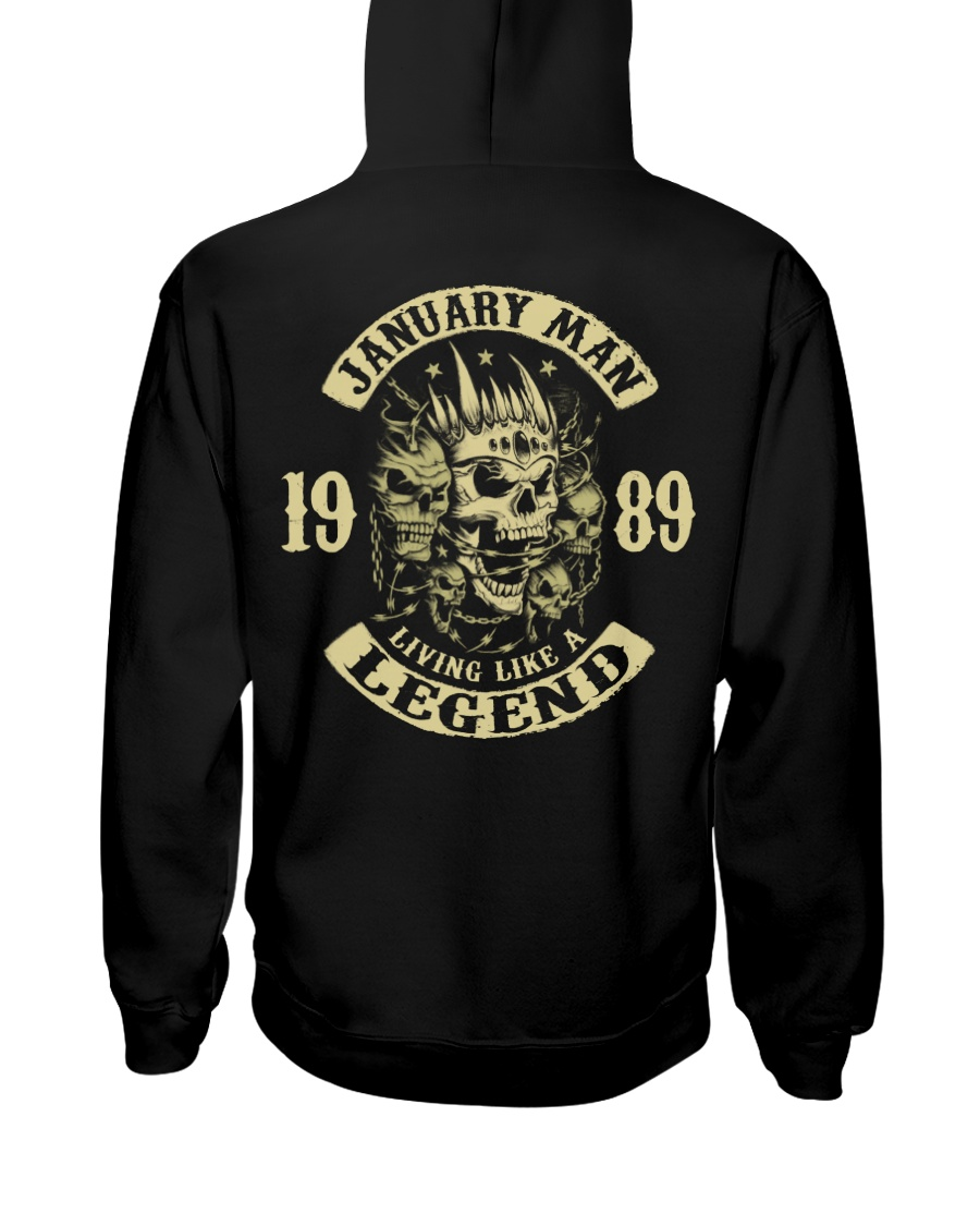 MAN 1989 01 Hooded Sweatshirt