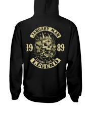 MAN 1989 01 Hooded Sweatshirt back