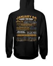 64-1 Hooded Sweatshirt back