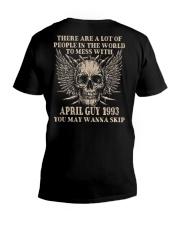 I AM A GUY 93-4 V-Neck T-Shirt thumbnail