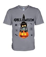 HALLOWINE 023 V-Neck T-Shirt thumbnail
