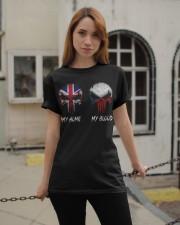 Home United Kingdom - Blood Czech Republic Classic T-Shirt apparel-classic-tshirt-lifestyle-19
