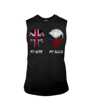 Home United Kingdom - Blood Czech Republic Sleeveless Tee thumbnail