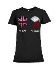 Home United Kingdom - Blood Czech Republic Premium Fit Ladies Tee thumbnail