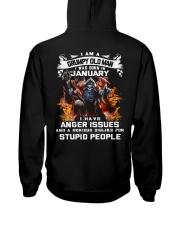 GRUMPY OLD MAN 1 Hooded Sweatshirt back