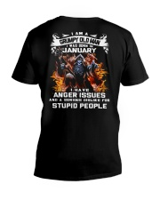 GRUMPY OLD MAN 1 V-Neck T-Shirt thumbnail