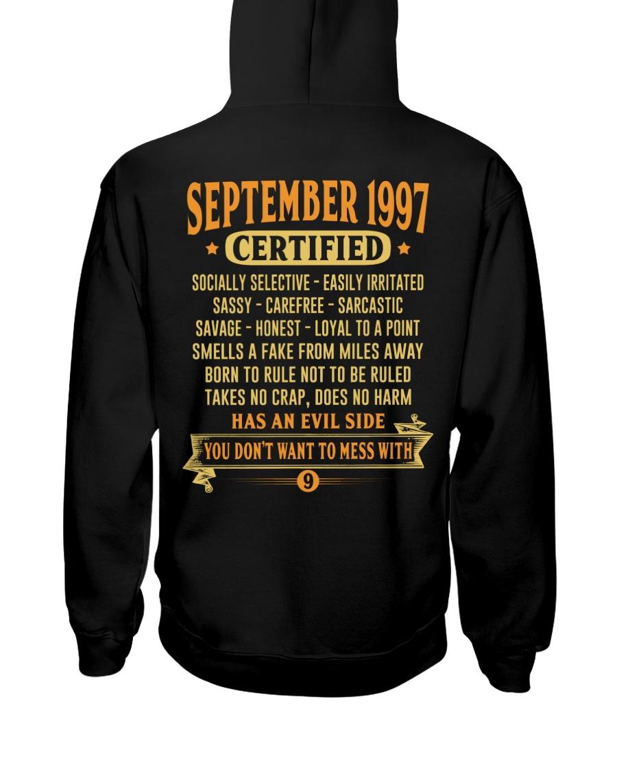 MESS WITH YEAR 97-9 Hooded Sweatshirt