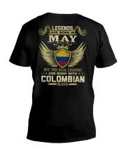 Blood Colombian 05 V-Neck T-Shirt thumbnail