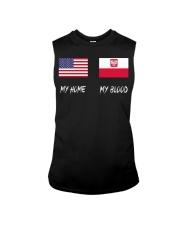 MY HOME - Poland Flag Sleeveless Tee thumbnail