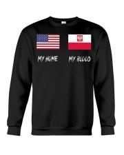 MY HOME - Poland Flag Crewneck Sweatshirt thumbnail