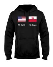 MY HOME - Poland Flag Hooded Sweatshirt thumbnail