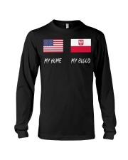 MY HOME - Poland Flag Long Sleeve Tee thumbnail