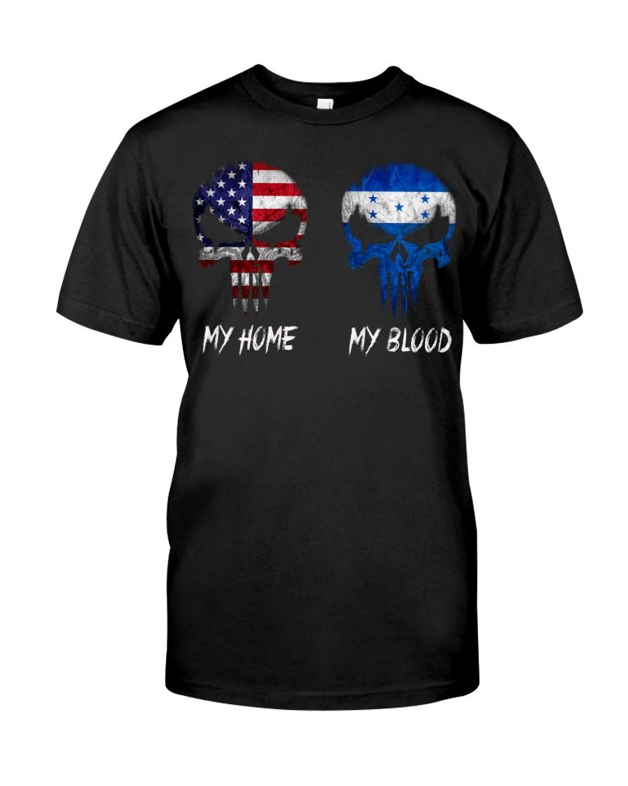 MY HOME SKULL Honduras Classic T-Shirt