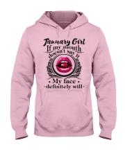 If My Mouth - Girl 01 Hooded Sweatshirt thumbnail