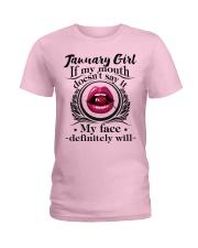 If My Mouth - Girl 01 Ladies T-Shirt thumbnail