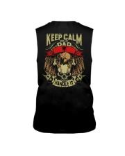 Keep Calm Dad - Albania Sleeveless Tee thumbnail