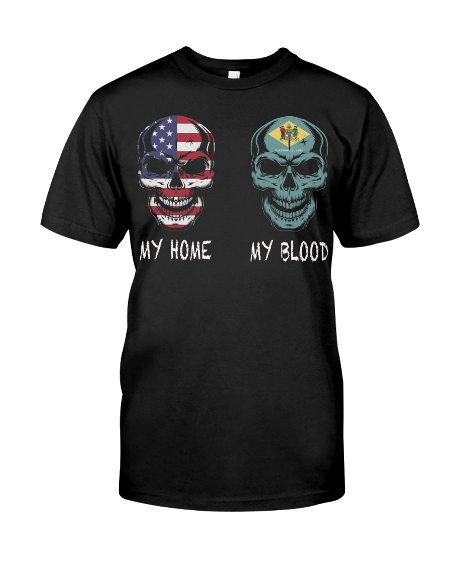 My Home America - Delaware Classic T-Shirt