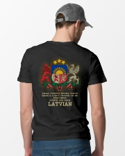 Awesome - Latvian Classic T-Shirt lifestyle-mens-crewneck-back-6