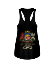 Awesome - Latvian Ladies Flowy Tank thumbnail