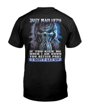 I DONT GET UP 74-7 Classic T-Shirt thumbnail