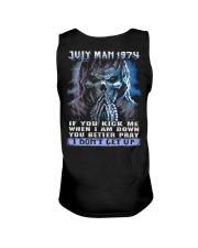 I DONT GET UP 74-7 Unisex Tank thumbnail