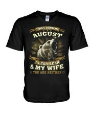 MY WIFE 8 V-Neck T-Shirt thumbnail