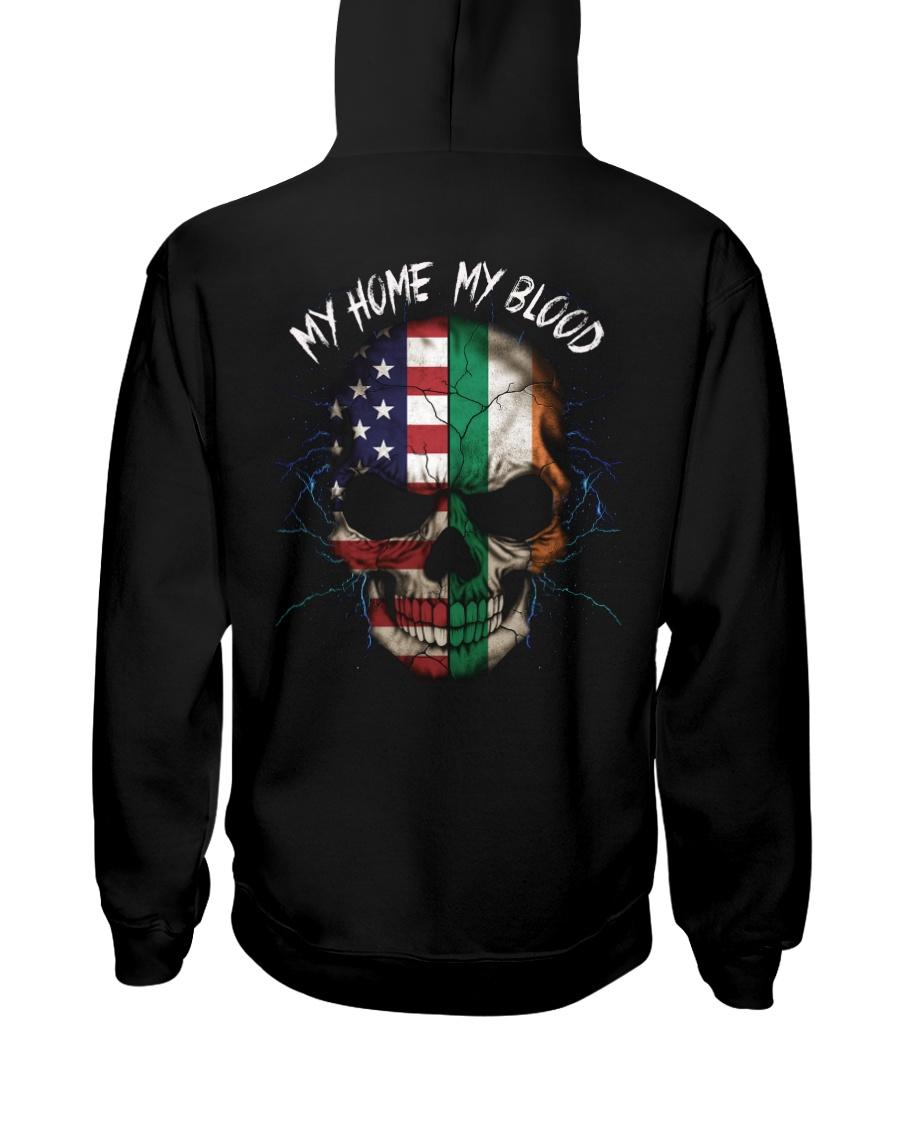 MY HOME - BLOOD Ireland Hooded Sweatshirt