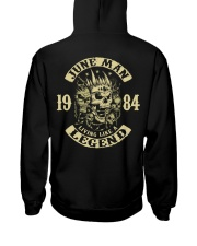 MAN 1984- 6 Hooded Sweatshirt back