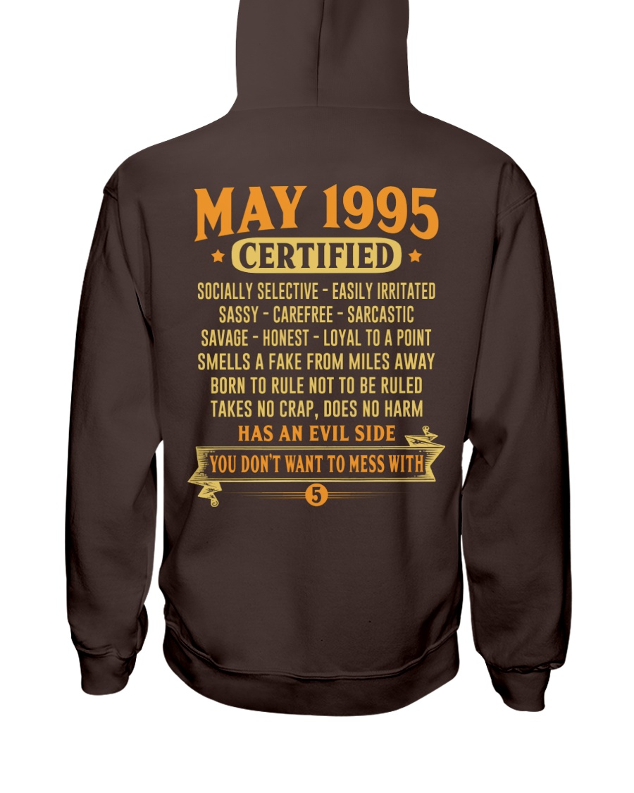 MESS WITH YEAR 95-5 Hooded Sweatshirt