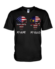 SKULL Malaysia V-Neck T-Shirt thumbnail