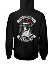 GIRLS OF Hungary Hooded Sweatshirt back