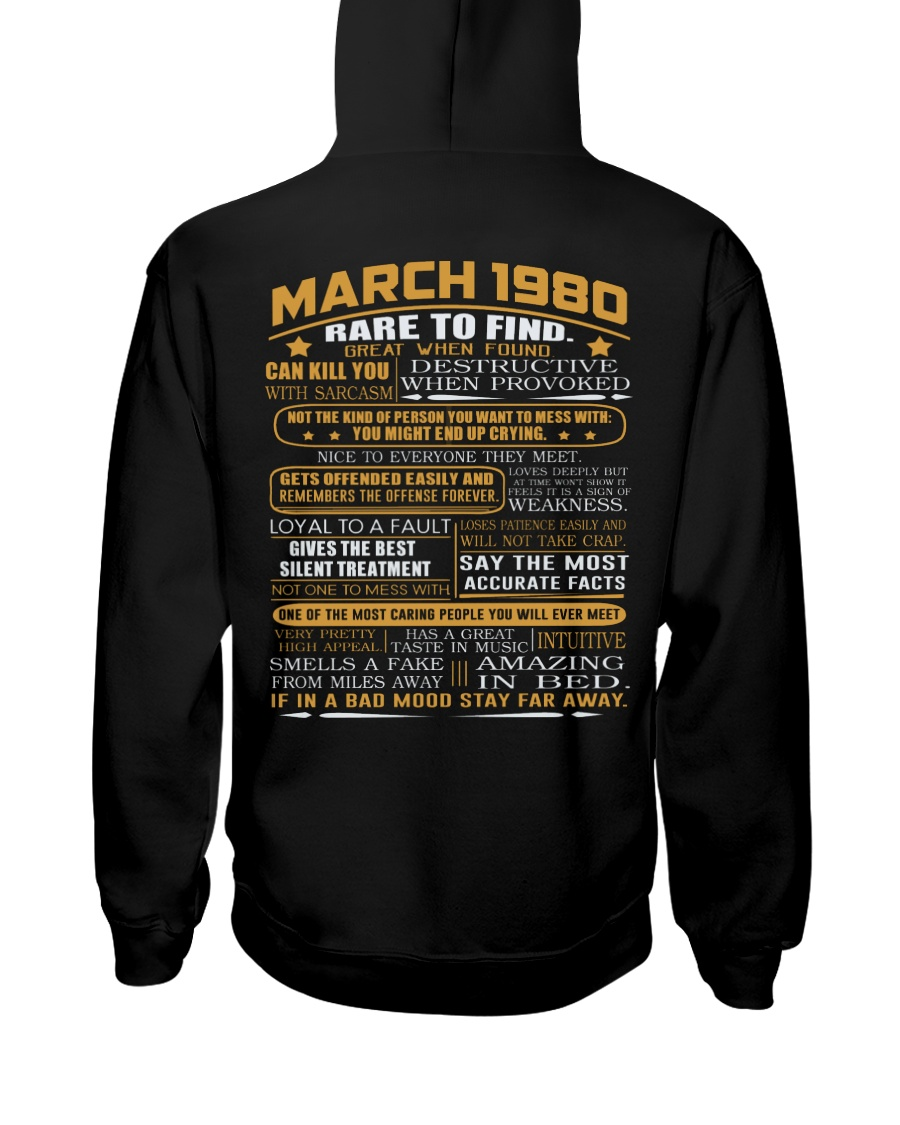 YEAR GREAT 80-3 Hooded Sweatshirt