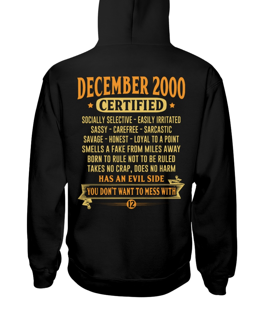 MESS WITH YEAR 00-12 Hooded Sweatshirt