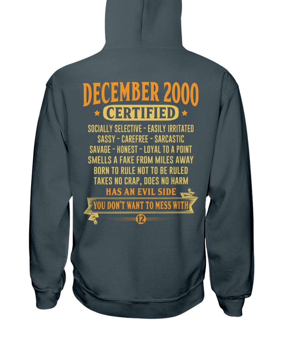 MESS WITH YEAR 00-12 Hooded Sweatshirt