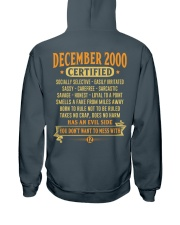 MESS WITH YEAR 00-12 Hooded Sweatshirt back