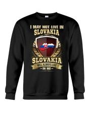 I MAY NOT Slovakia Crewneck Sweatshirt thumbnail