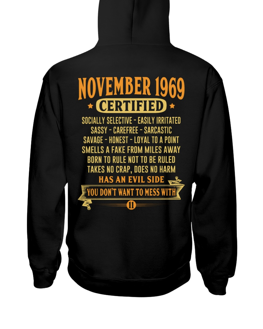 MESS WITH YEAR 69-11 Hooded Sweatshirt